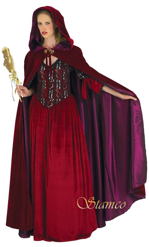 Costume-Cape-Bordeaux-Velours