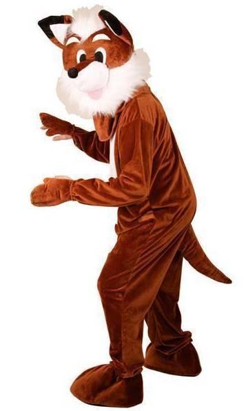 Mascotte-de-renard