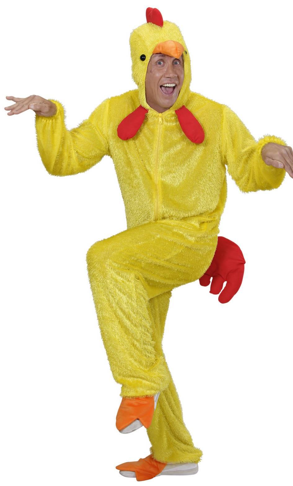 Costume-Coq-Jaune-Grande-Taille-XL