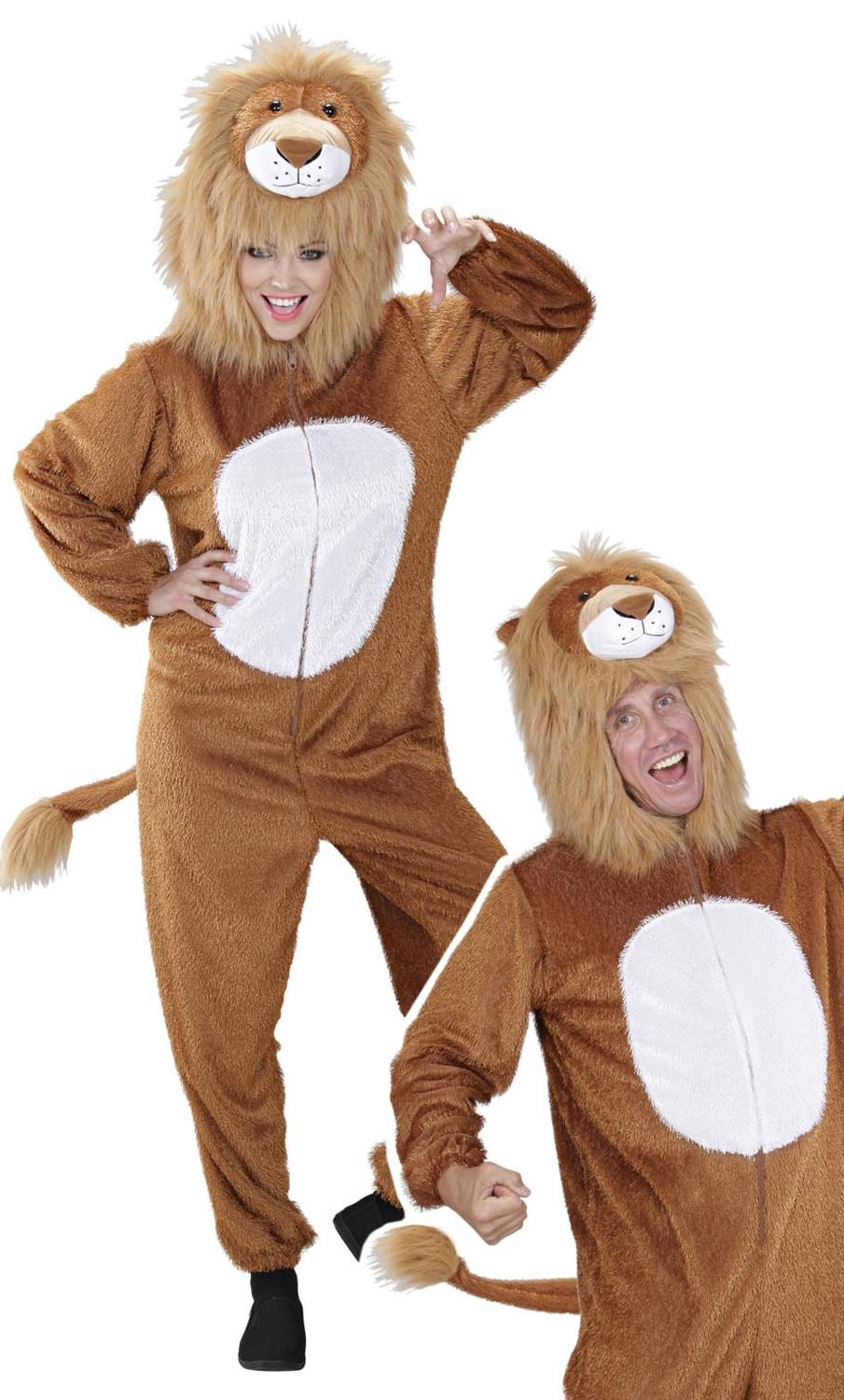 Costume de lion pour adulte