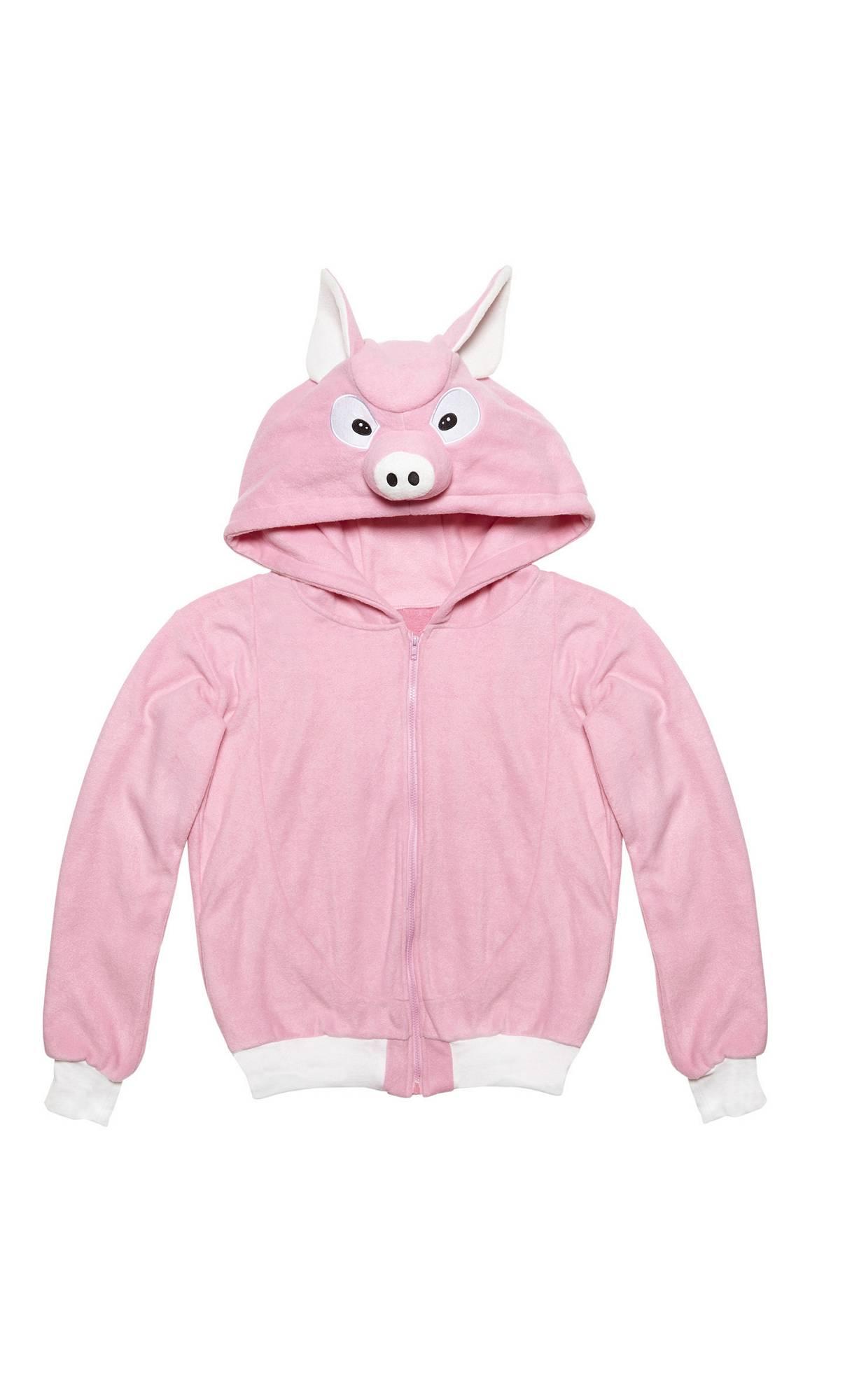 Veste-capuche-cochon