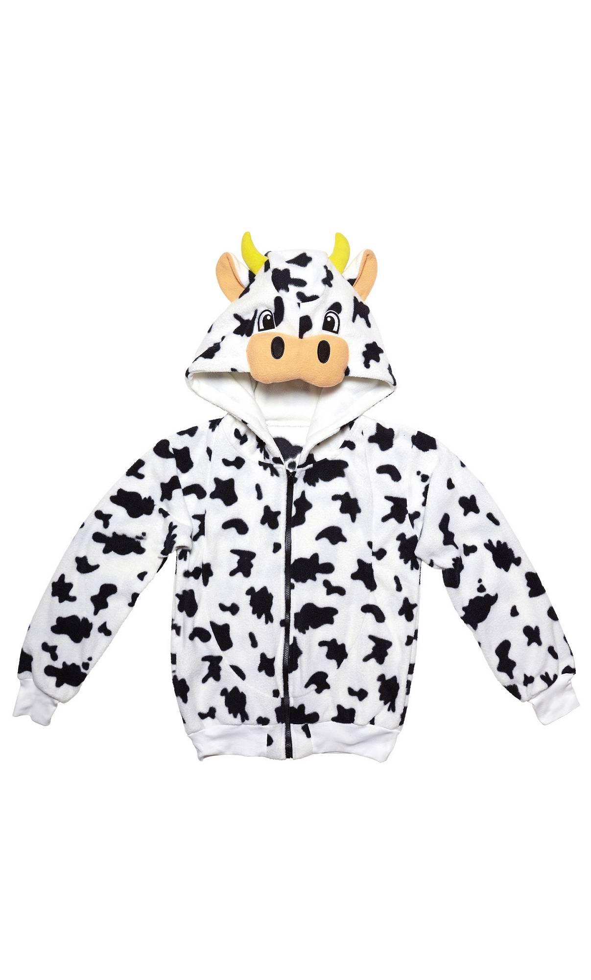 Veste-capuche-vache