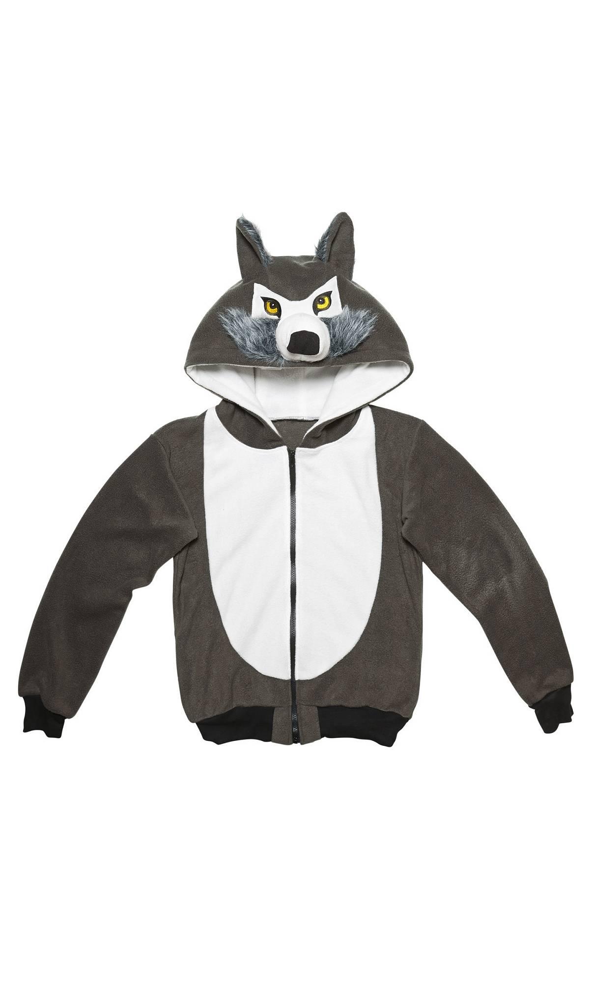 Veste-capuche-loup