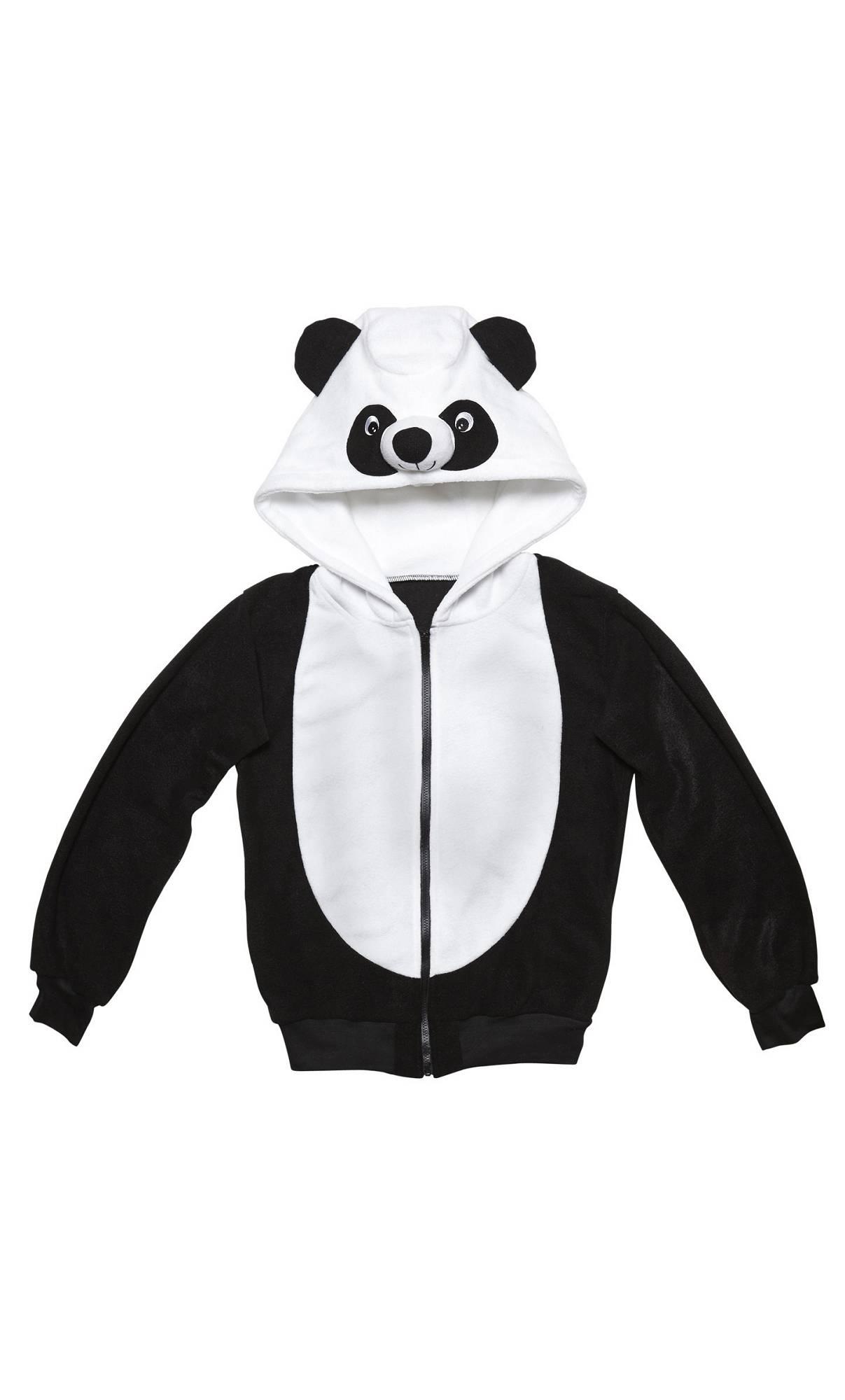 Veste-à-capuche-Panda