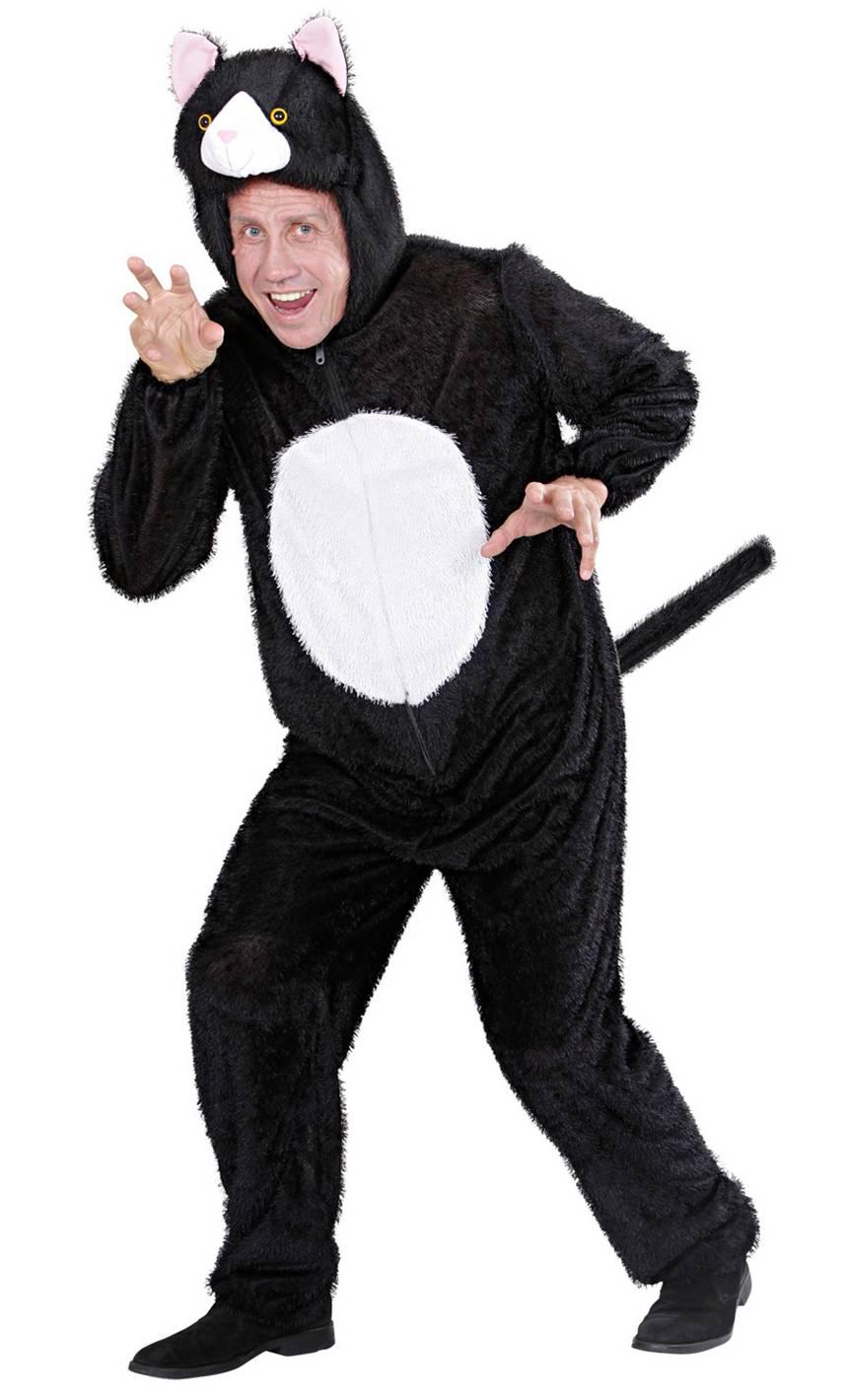 Costume de chat adulte en grande taille xl