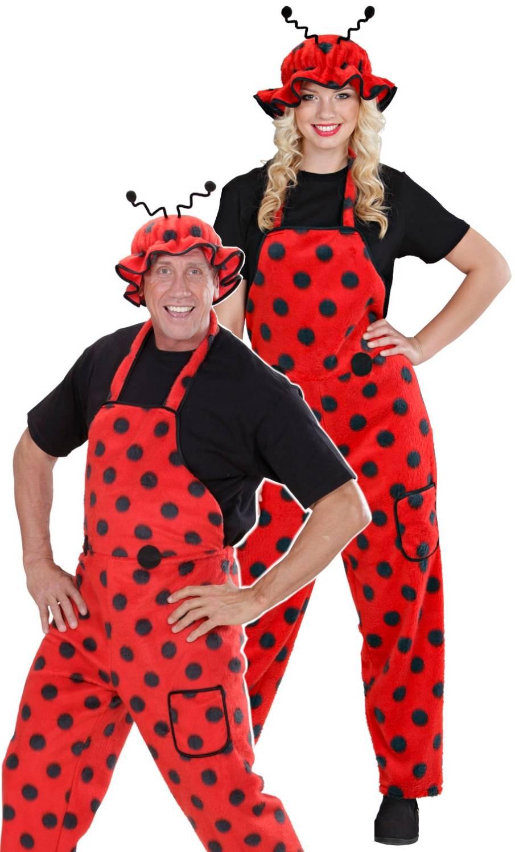 Costume de coccinelle pour adulte grande taille