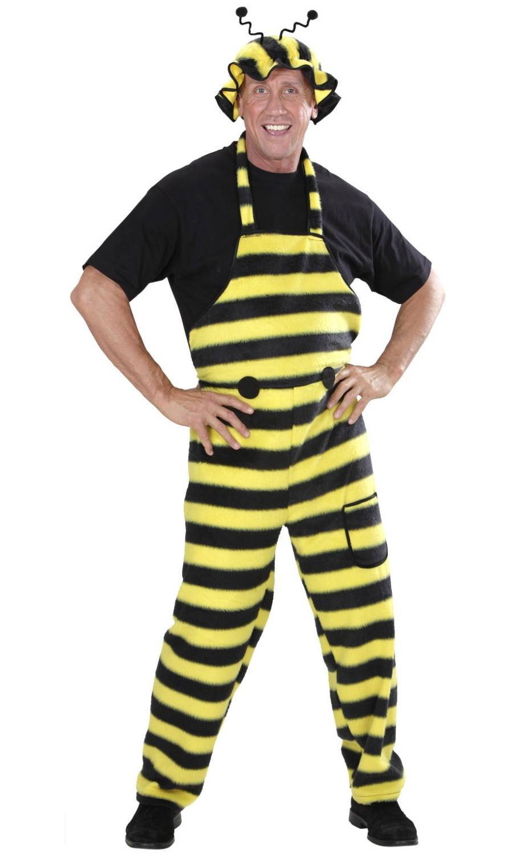 Costume d'abeille adulte en grande taille