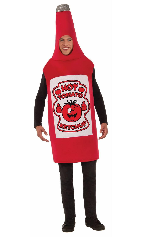Déguisement-bouteille-de-ketchup