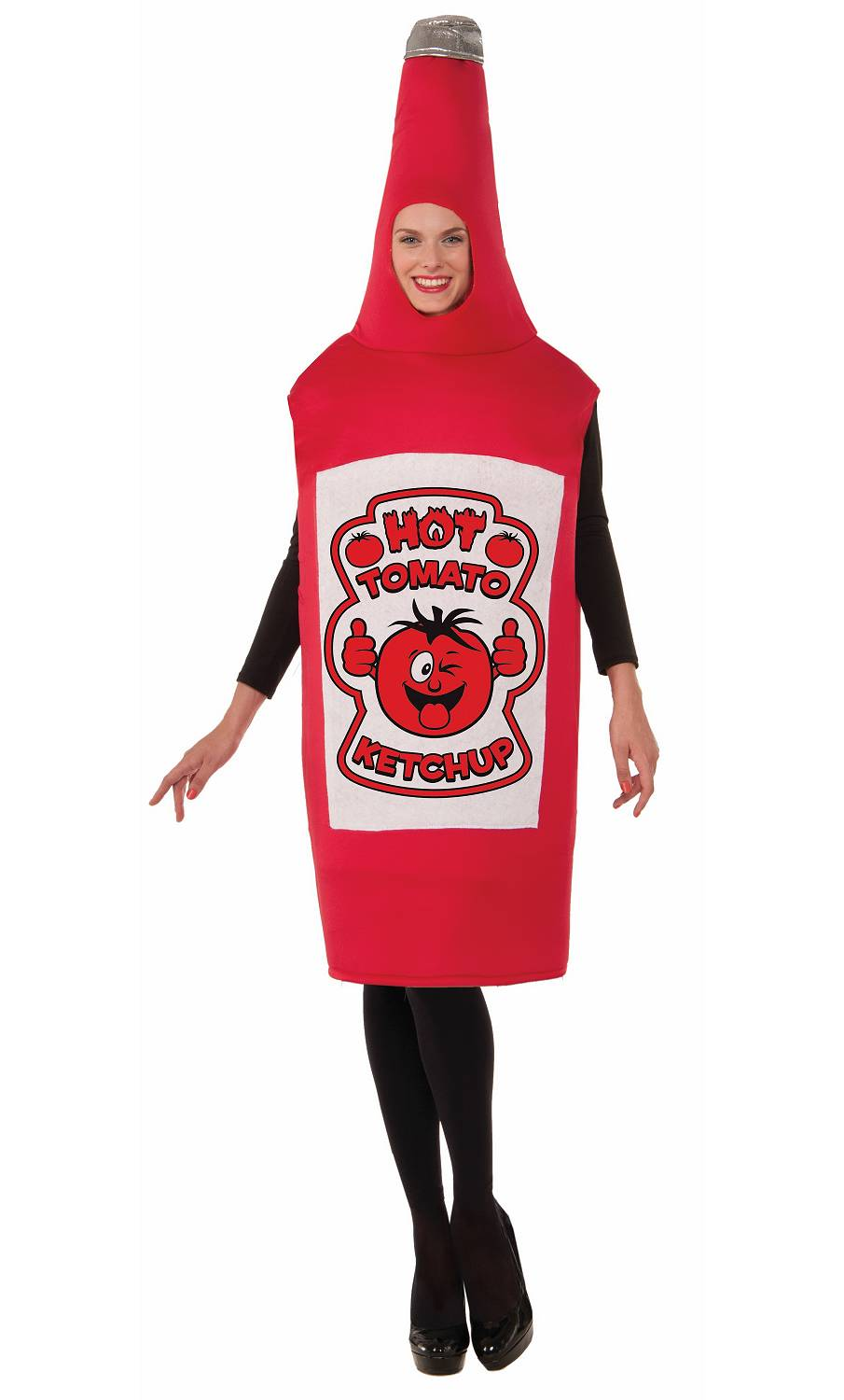 Costume-bouteille-ketchup-2