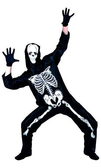 costume squelette enfant v48019. Black Bedroom Furniture Sets. Home Design Ideas