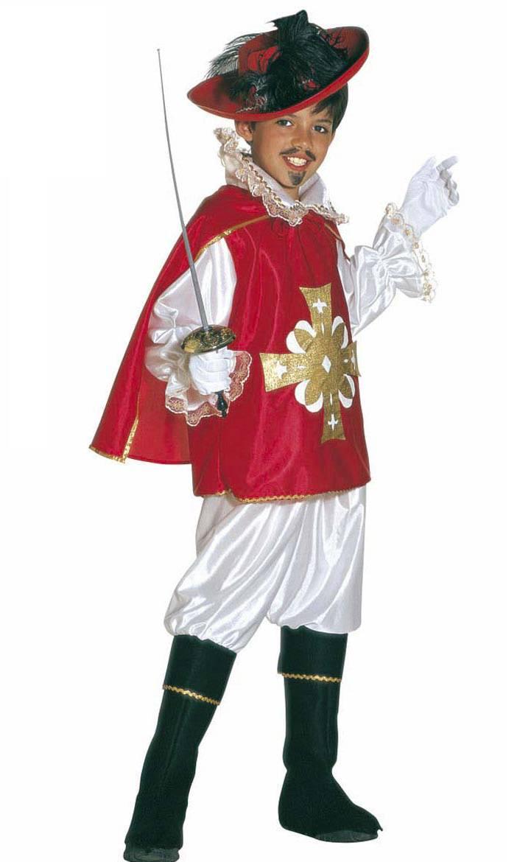 Costume-Mousquetaire-Enfant-rouge