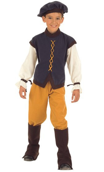 déguisement garçon medieval