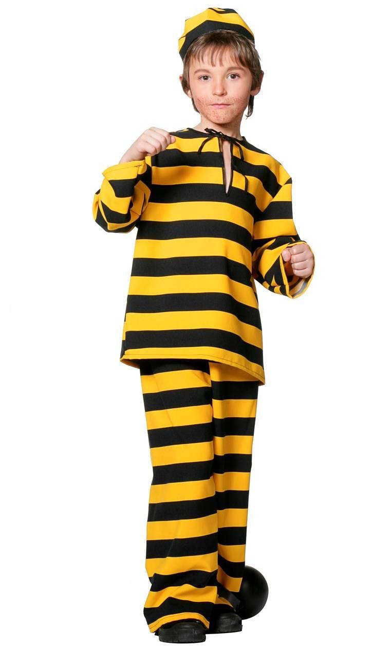Costume-de-bagnard-jaune-enfant