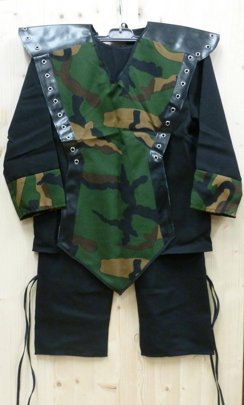 Costume de ninja commando