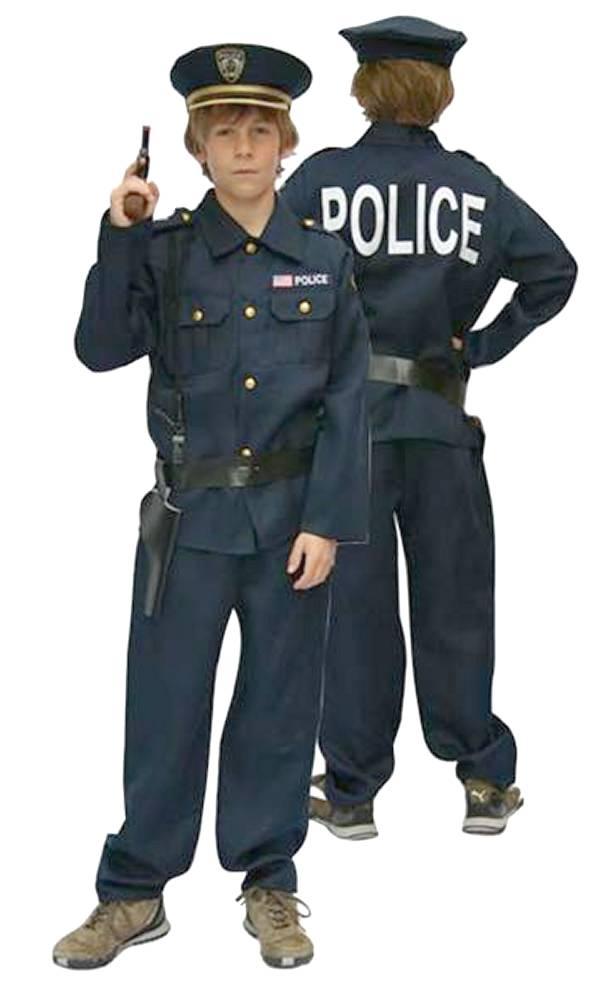 Costume-de-policier-Enfant-Garçon