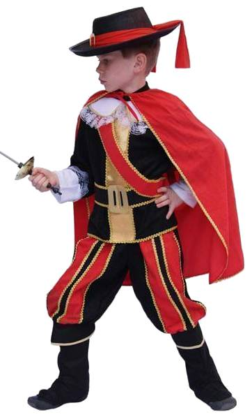 Costume-Mousquetaire-Gar�on