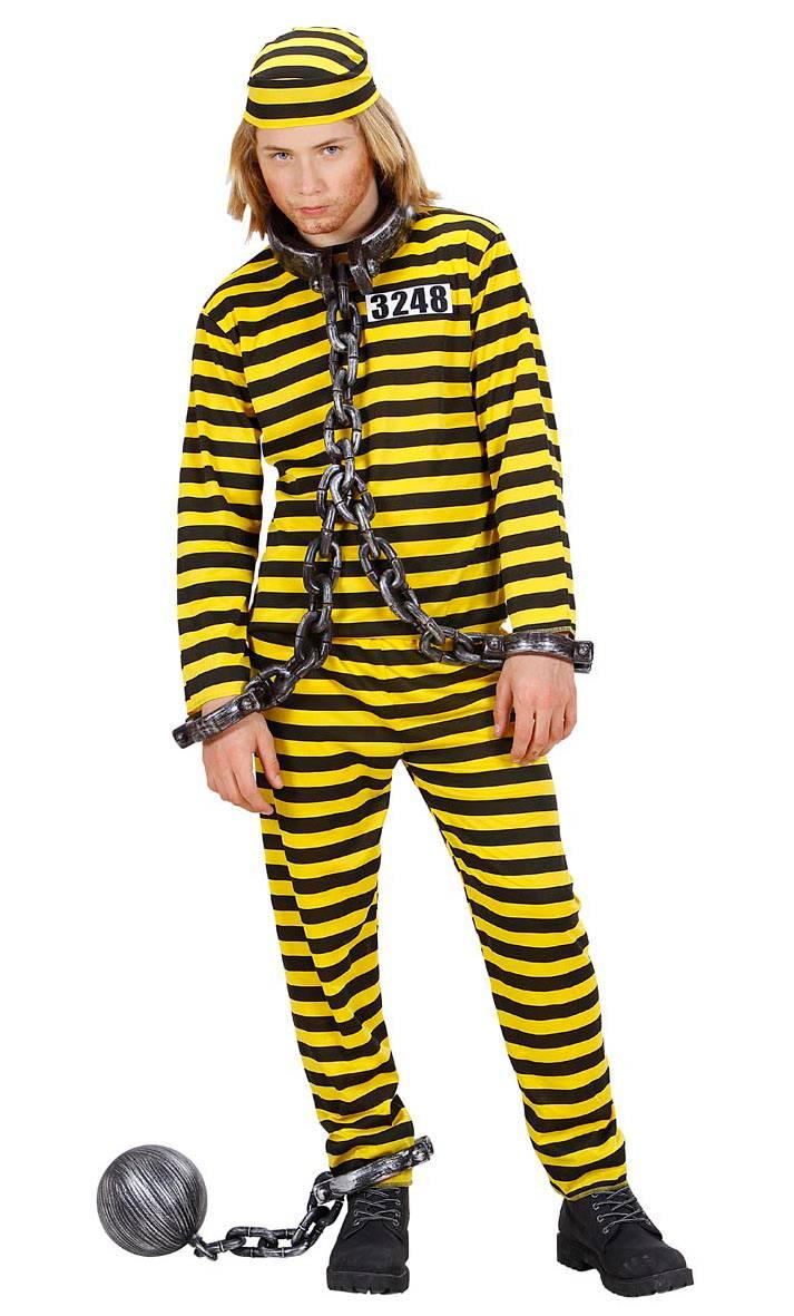 Costume-Prisonnier-Bagnard-jaune-enfant-2