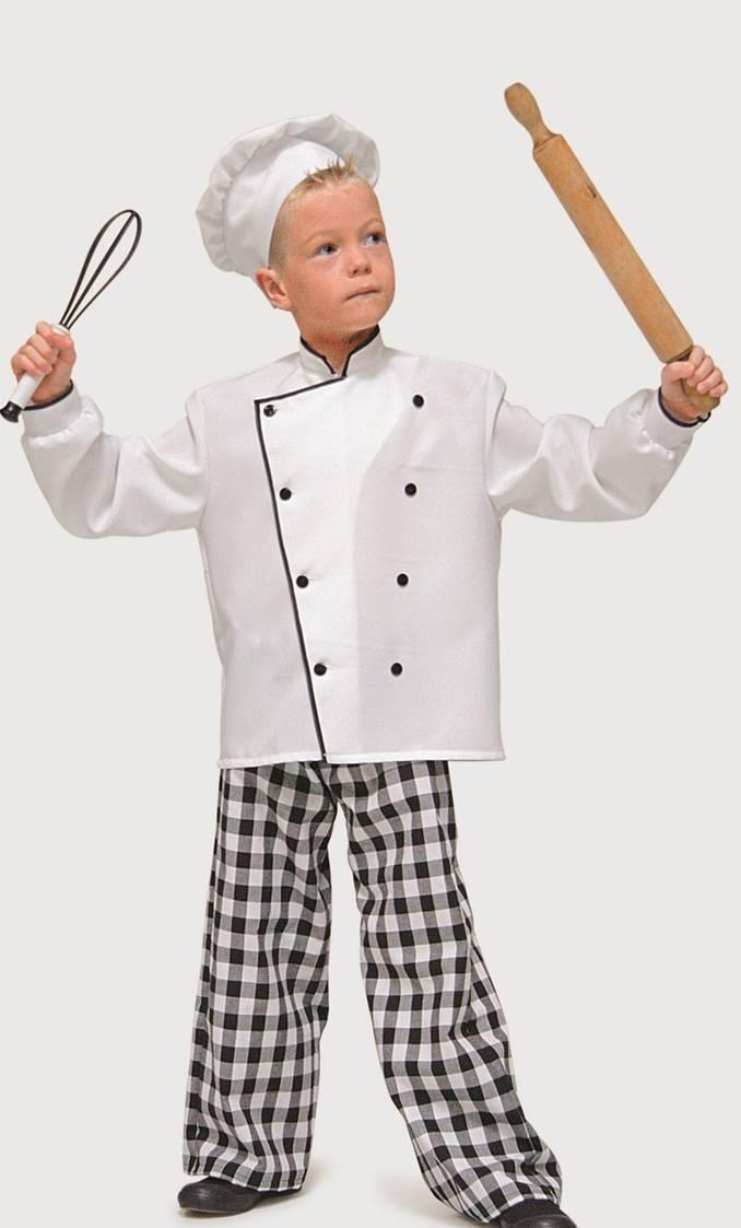 costume de cuisinier pour enfant v49268. Black Bedroom Furniture Sets. Home Design Ideas