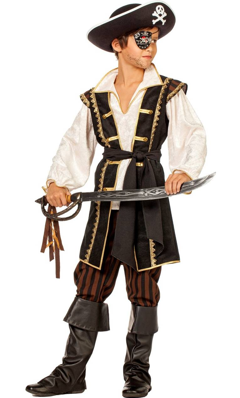 costume de pirate enfant. Black Bedroom Furniture Sets. Home Design Ideas