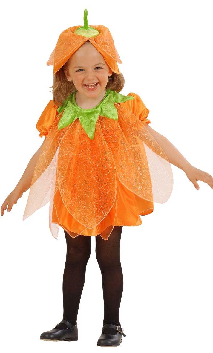 costume citrouille mini