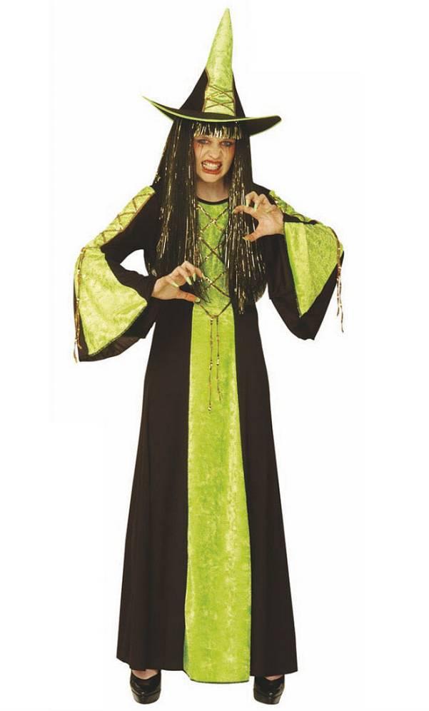 Costume-Sorcière-verte