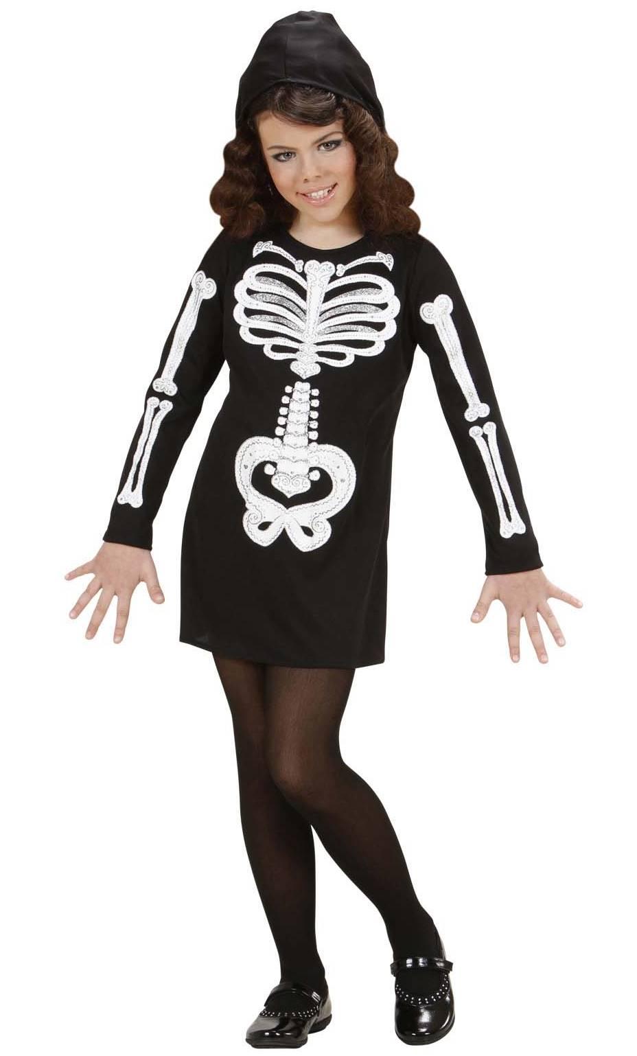 costume squelette fille v58049. Black Bedroom Furniture Sets. Home Design Ideas