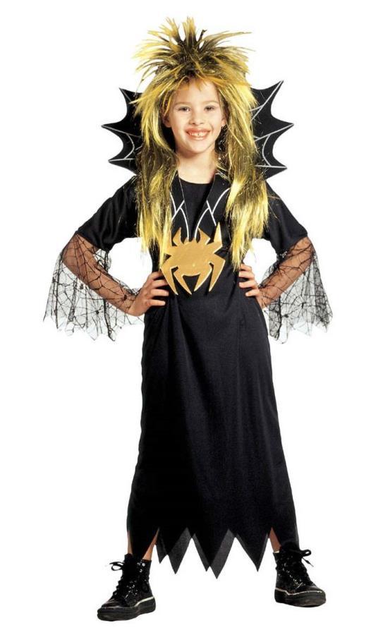 Costume-de-fille-araignée