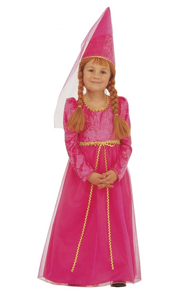 Costume-de-princesse-médiévale