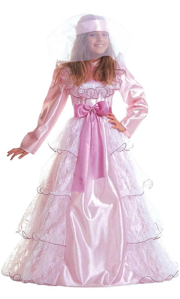 Robe-de-Princesse-rose