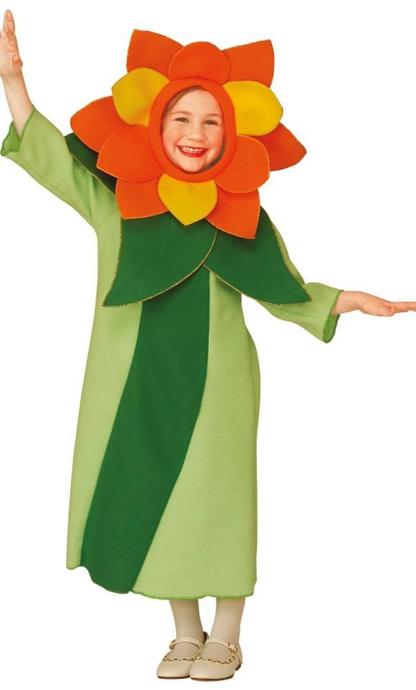 Costume-Fleur-verte