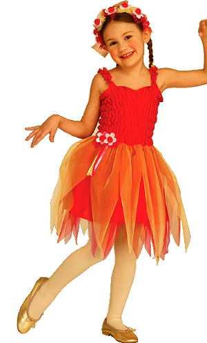 Costume-Tutu-fleur-rouge