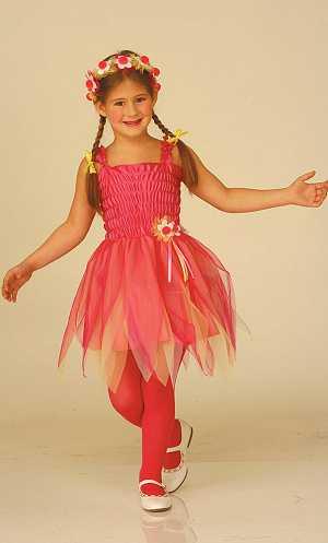 Costume-Tutu-fleur-rose