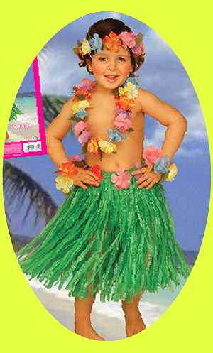 deguisement enfant hawaien