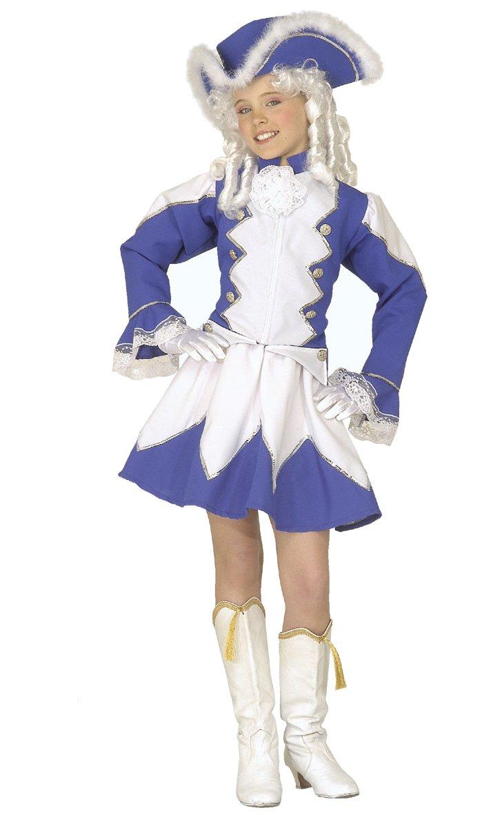 Costume-Majorette-bleue