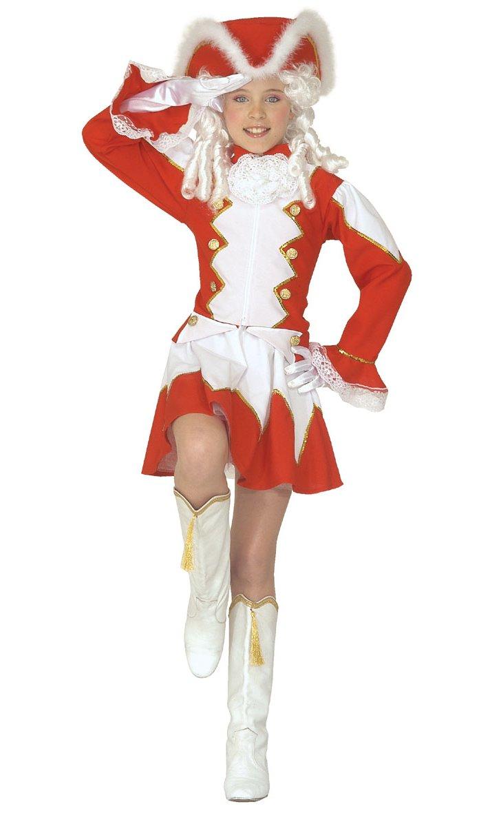 Costume-de-majorette-rouge