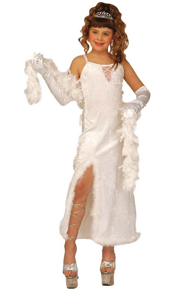 Robe-blanche-Chanteuse-enfant