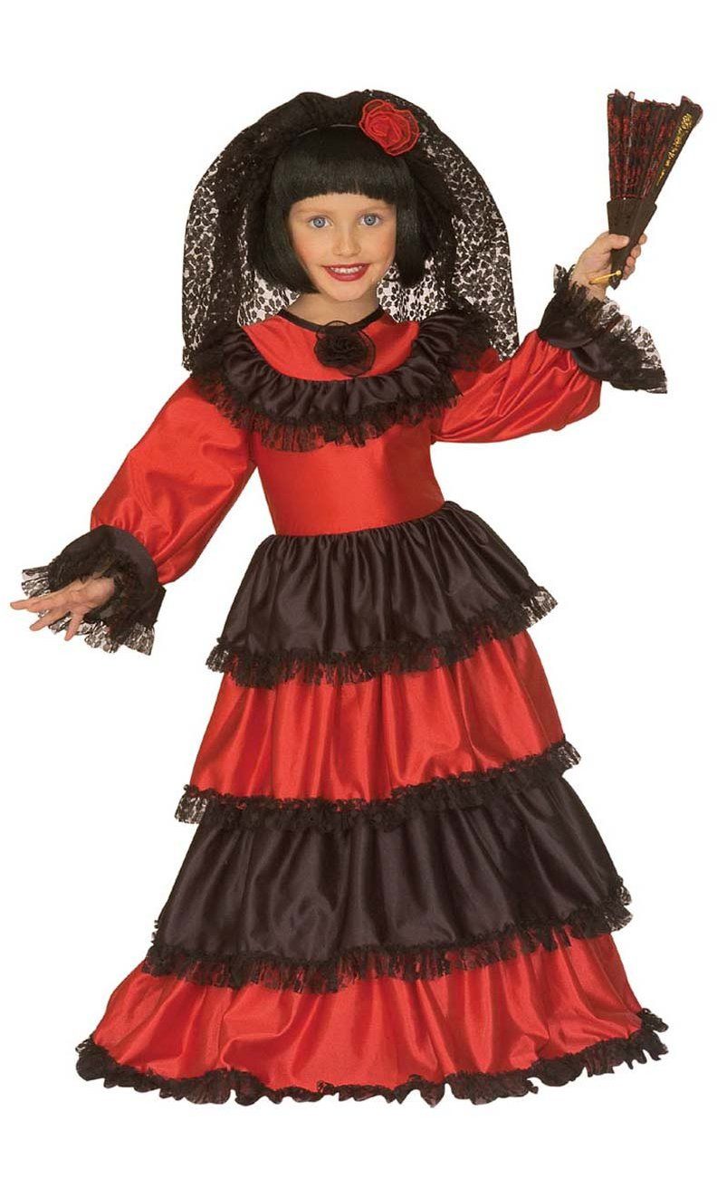 Robe-espagnole-fille