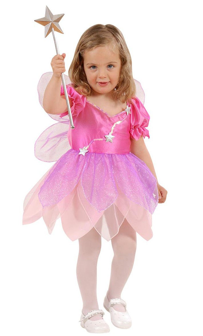 Costume-Fée-rose-bébé