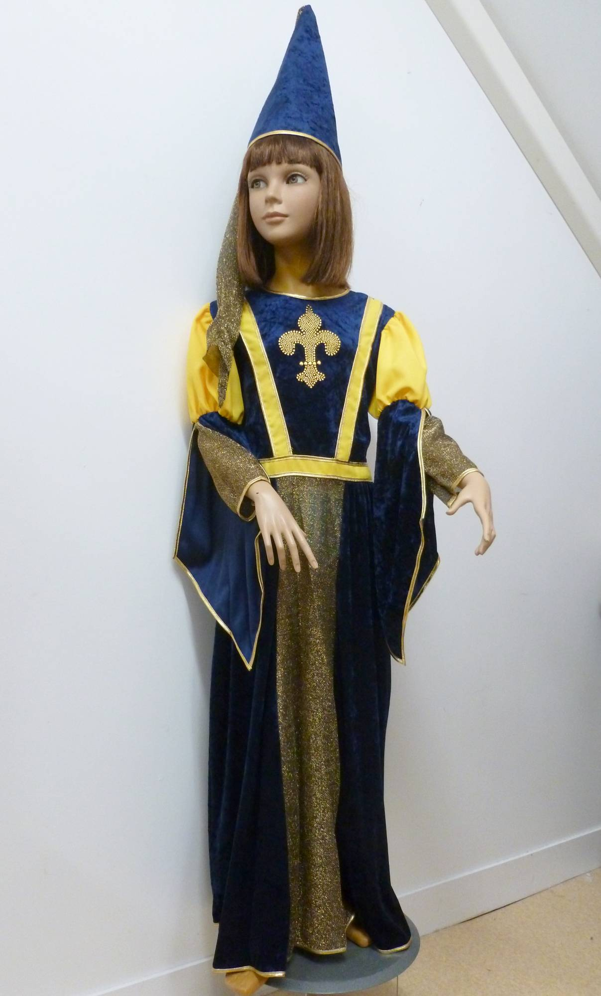 Robe-Médiévale-Damoiselle