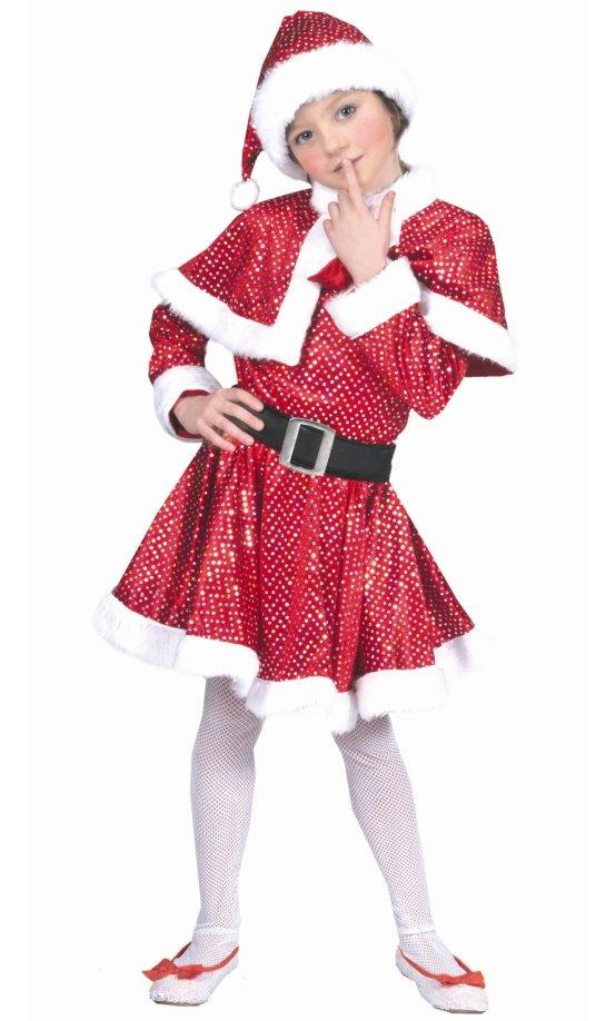 Costume-Fille-Noël-paillettes