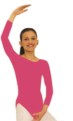Costume-Body-enfant-fushia