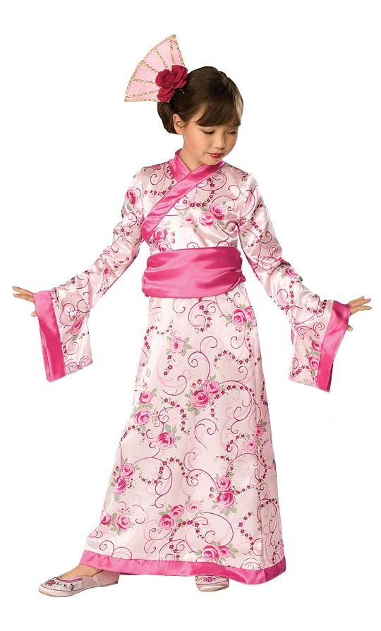 Déguisement de geisha fille 6 ans