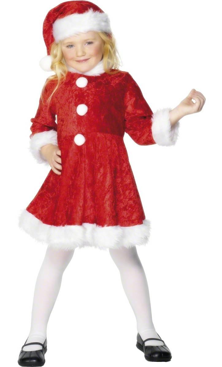 Costume-de-mère-Noël-fillette