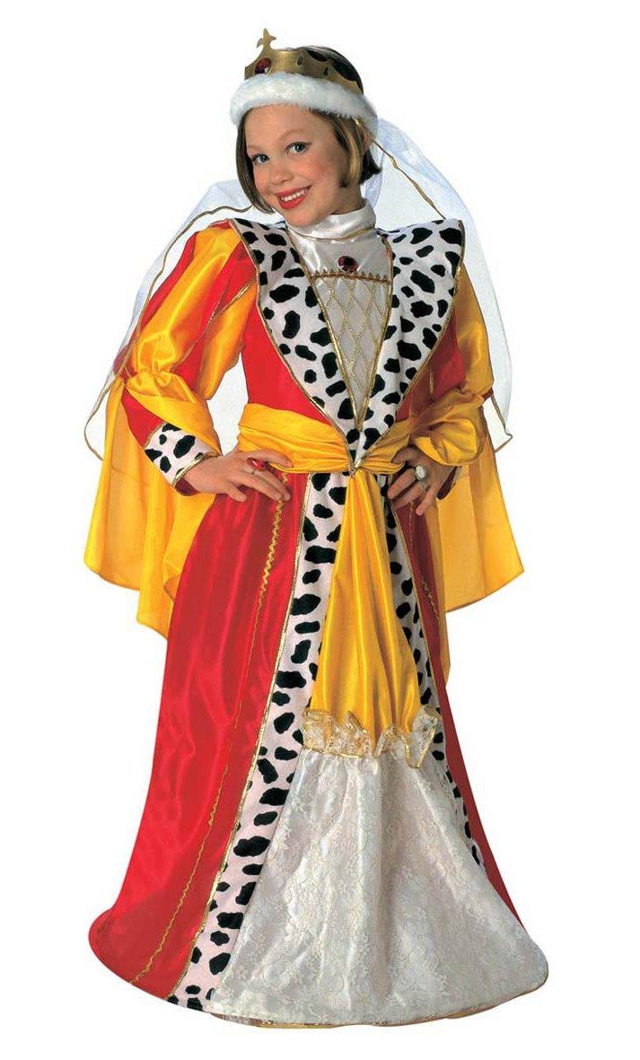 Costume-de-princesse-ou-reine-médiévale-fille