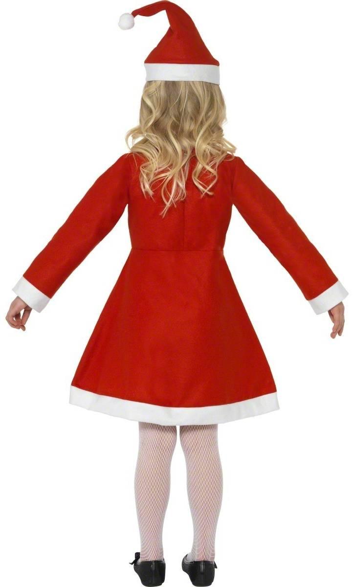 Robe-Mère-Noël-enfant-Fille-Noël-eco-2
