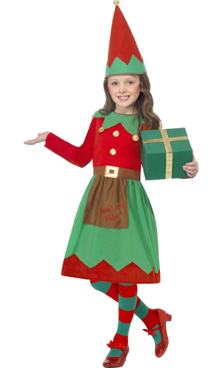 Costume-Lutin-Noël-Fille