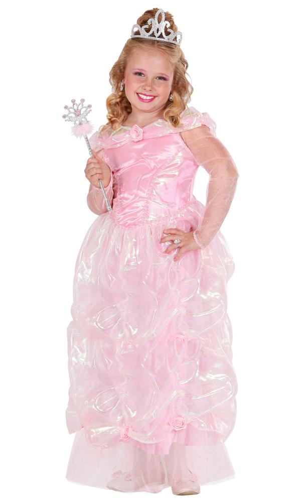 Robe-de-Princesse-rose-Fille