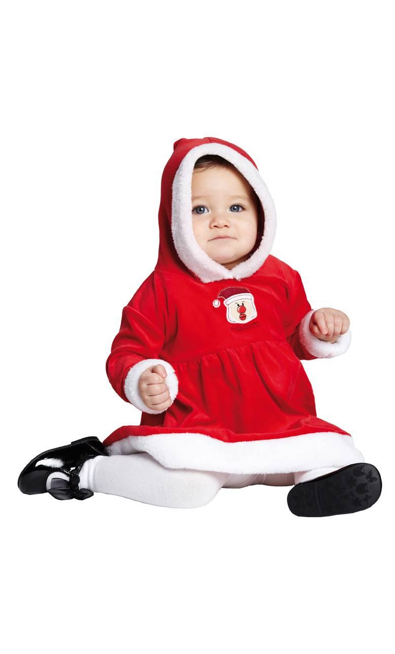 Costume-Bébé-Mère-Noël