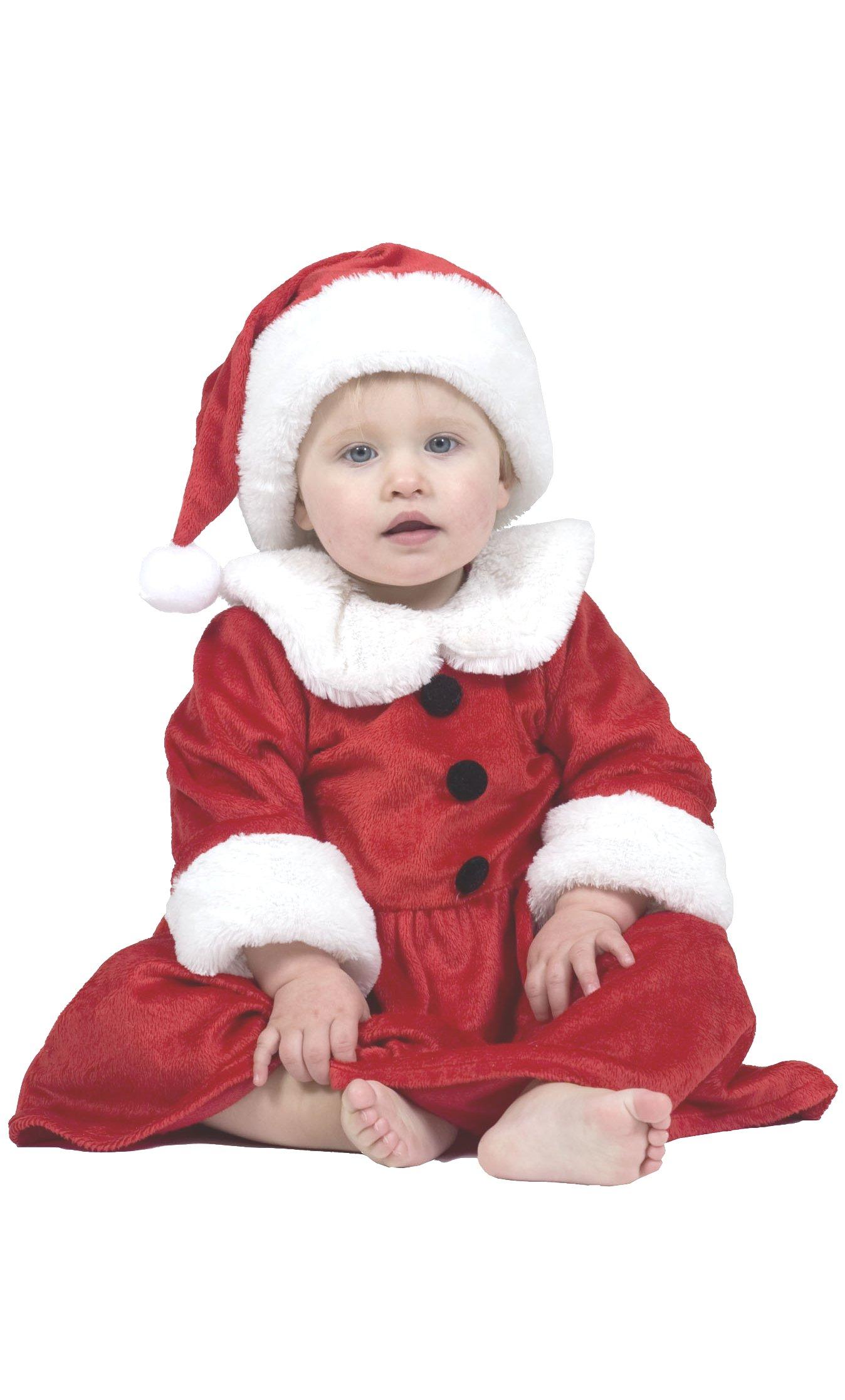 Costume-de-mère-Noël-Bébé