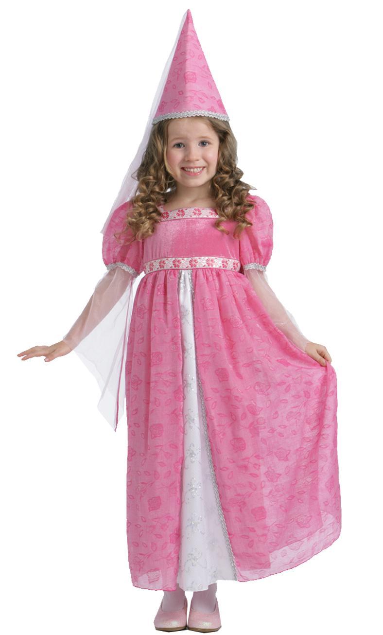 Robe-de-princesse-rose-6-ans